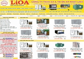 Thiết kế website lioanhatlinh.com.vn