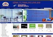 Thiết kế website giá rẻ: CATPHUGIA.COM