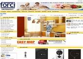 Thiết kế website giá rẻ: FORCI.VN