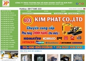 Thiết kế website giá rẻ: THIETBIMAYCONGTRINH.NET