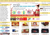 Thiết kế website ICHIJAPAN.NET