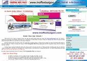 Thiết kế website giá rẻ: INOFFSETSAIGON.COM