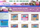 Thiết kế website PHUONGHOANGHAI.COM