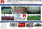 Thiết kế website giá rẻ cuocsongmoi.net.vn